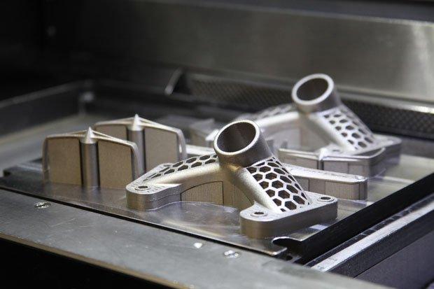 Металлические детали в 3D-принтере