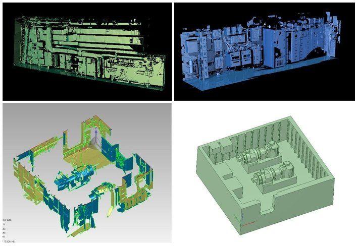 3D-сканирование помещения