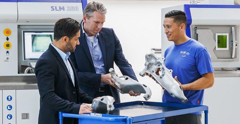 3D печать металлами на установке SLM Solutions