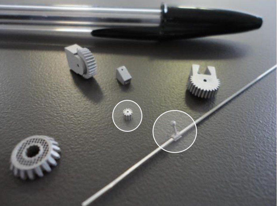 3d печать металлами миниатюрных деталей