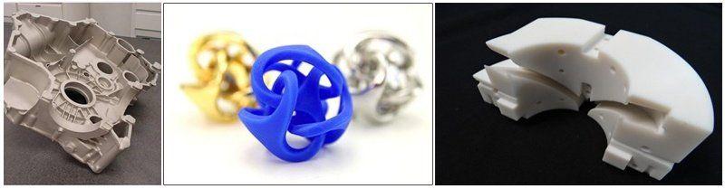 Примеры изделий, изготовленных на SLA-машинах