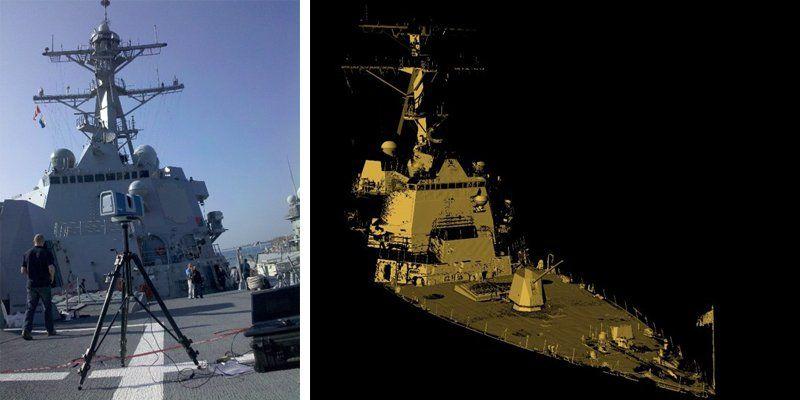 3D сканирование в судостроении