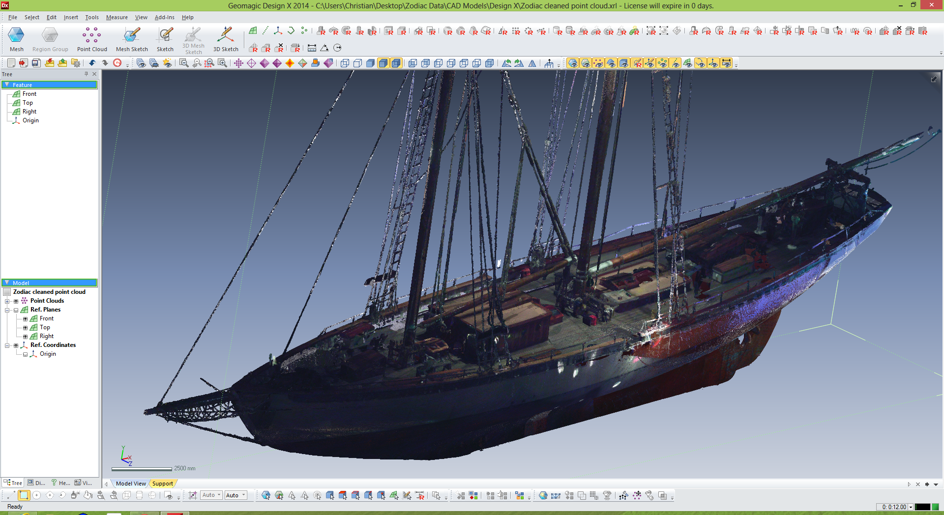 3D-модель судна