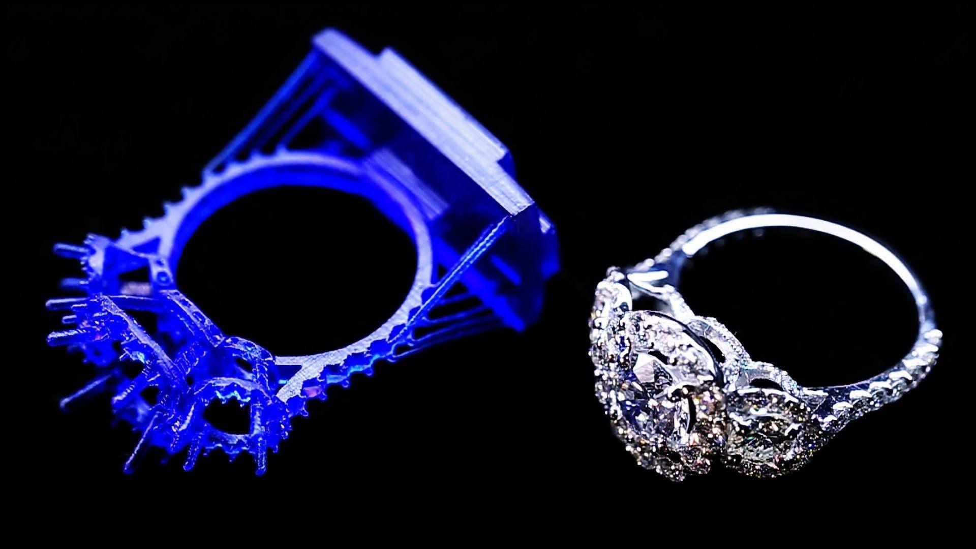 Восковая 3D печать ювелирных изделий