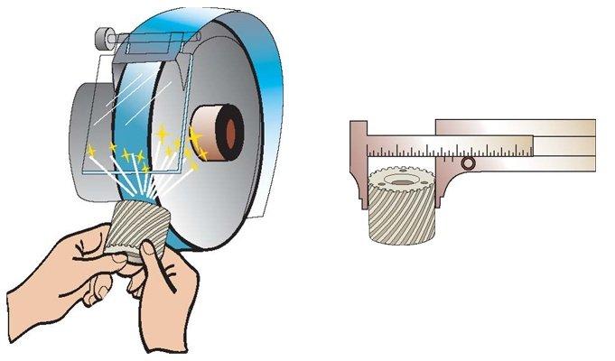 Зачистка литников и проверка точности