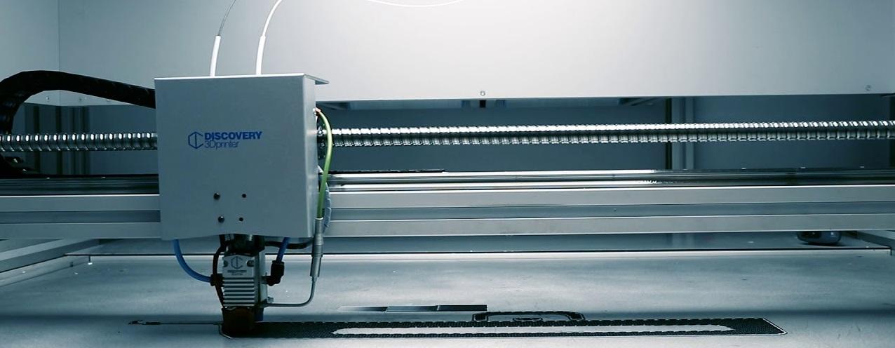 Крупногабаритный 3D-принтер