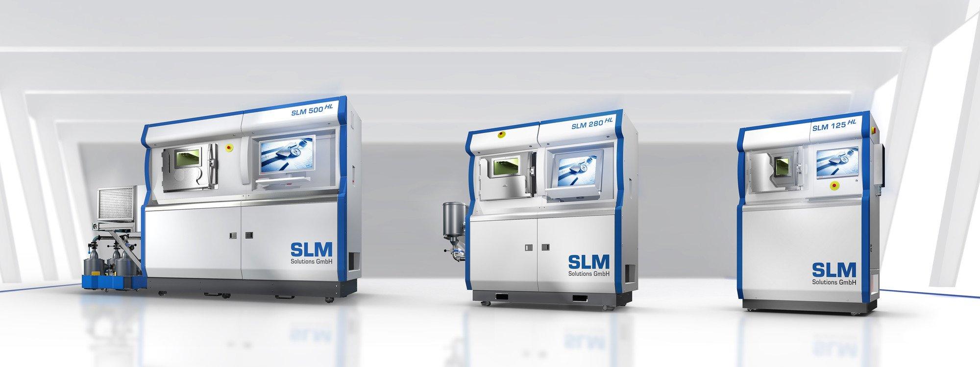 Линейка 3D-принтеров SLM