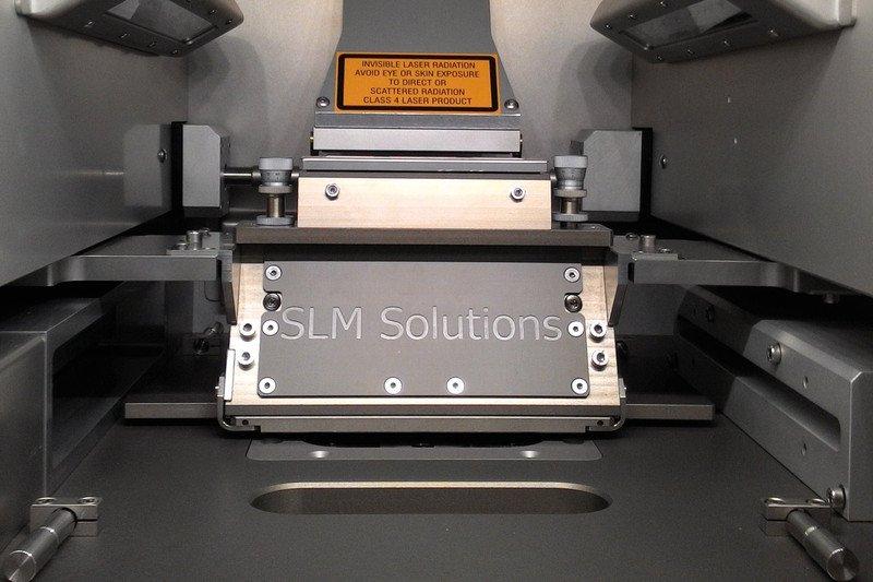 Камера построения 3D-принтера SLM