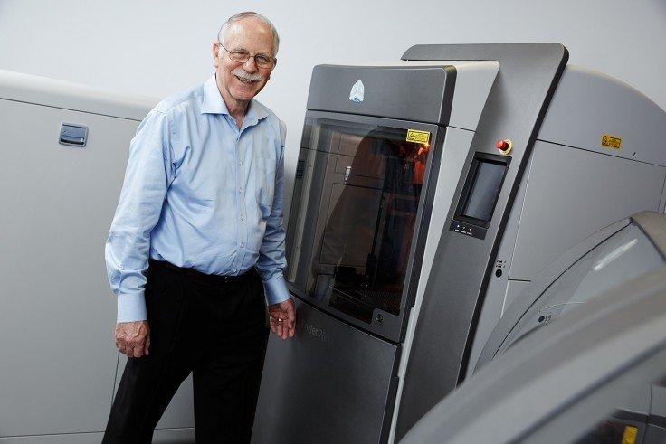 Чак Халл и 3D принтер
