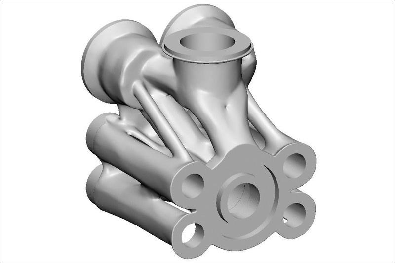 Деталь, напечатанная на 3D принтере