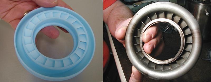 3D печать компонентов газотурбинных двигателей
