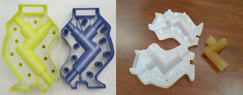 3D печать формы разветвителя