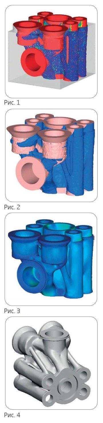 Типологическая оптимизация блока гидравлических клапанов
