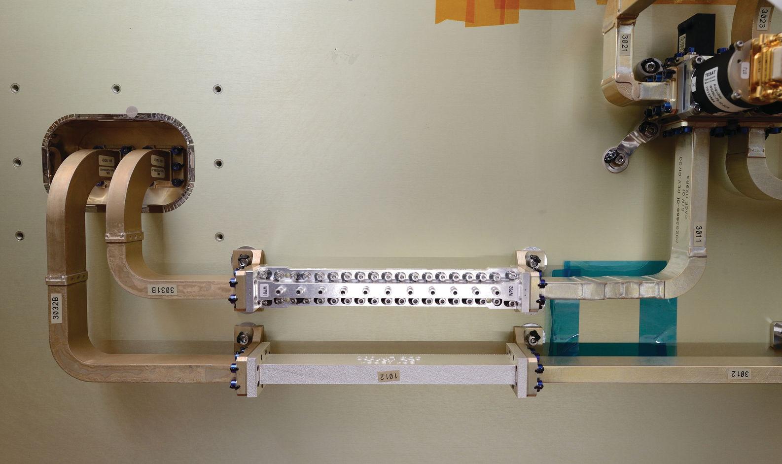 Компонент спутника, изготовленный на 3D принтере