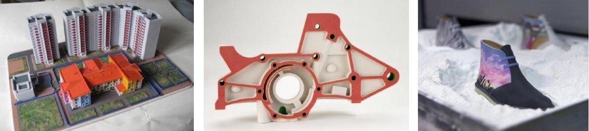 3D печать по технологии ColorJet Printing