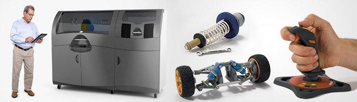 3D-принтер CJP ProJet 660Pro и изделия из гипса