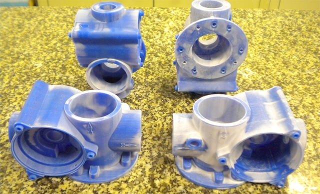 Восковые модели, напечатанные на 3д принтере