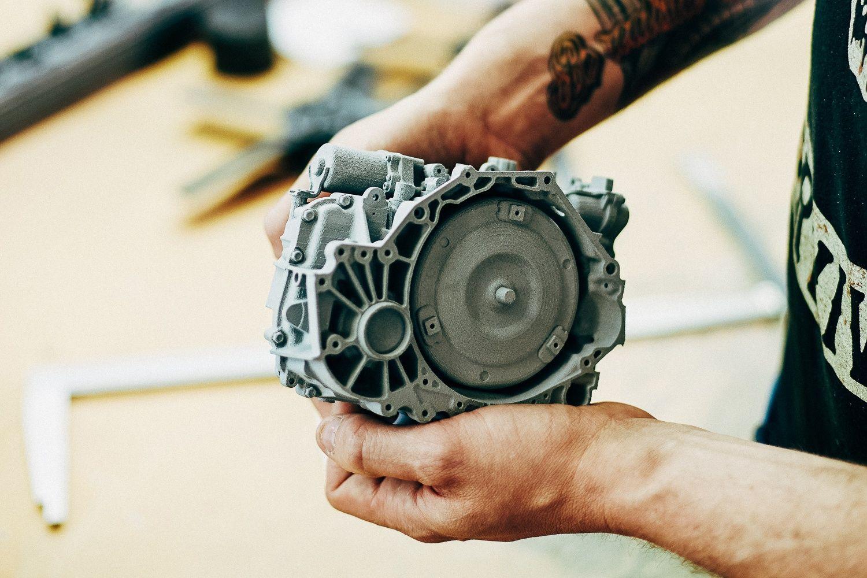 Изделие, напечатанное по SLS-технологии