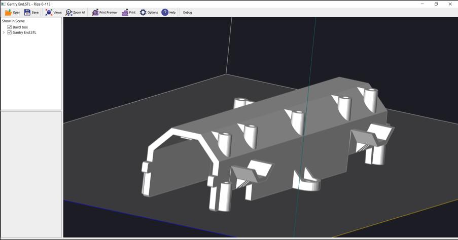 Скриншот модели 1