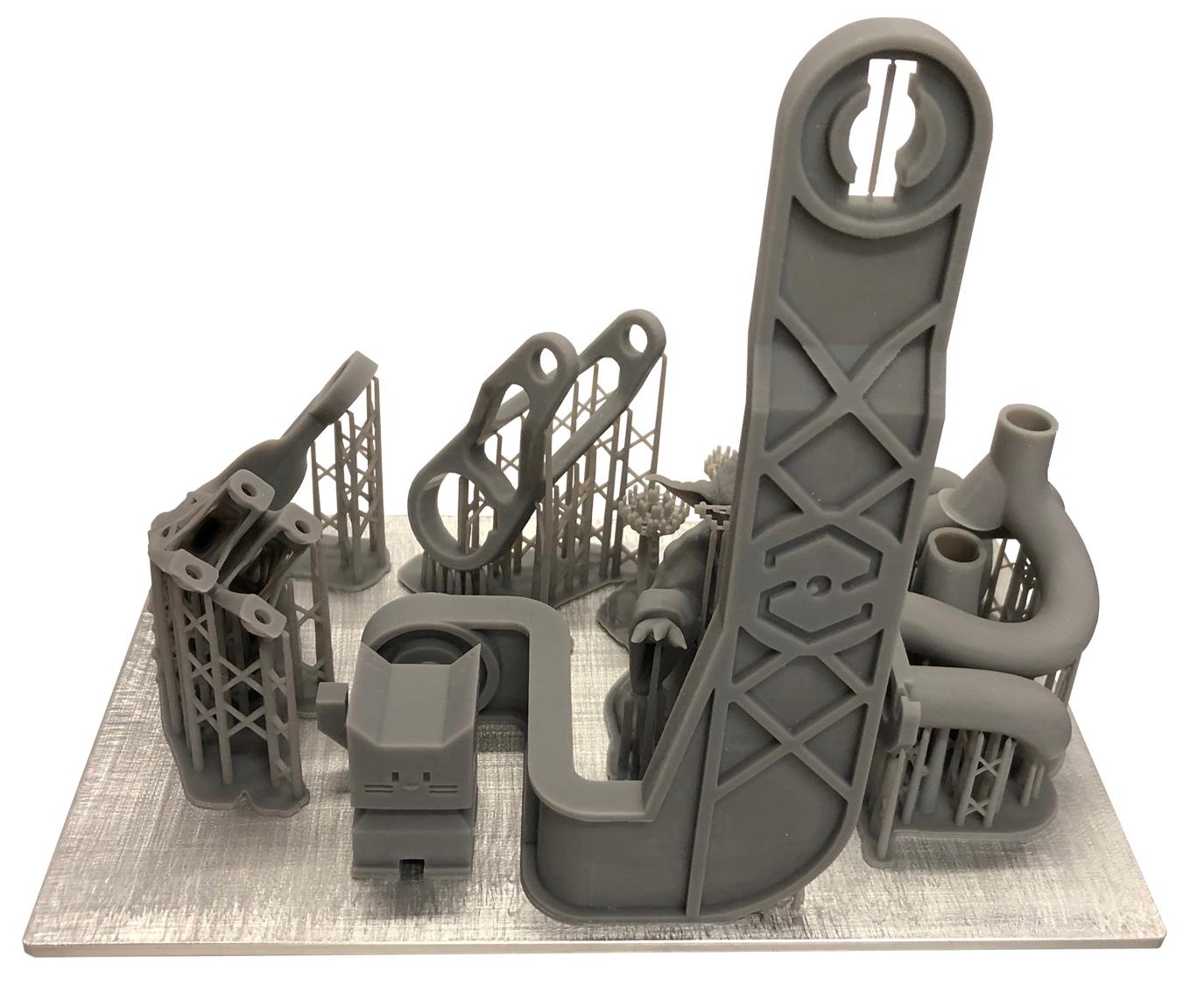 3D-печать фотополимером