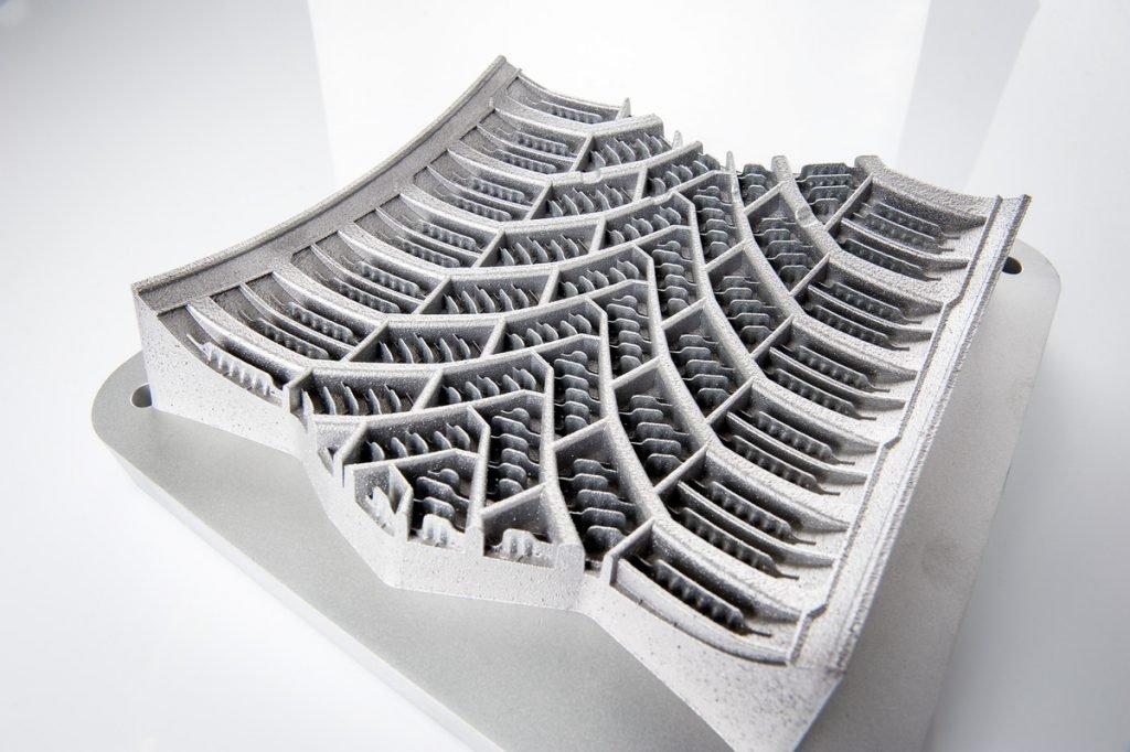 Пресс-форма автошины, выращенная на 3D-принтере SLM