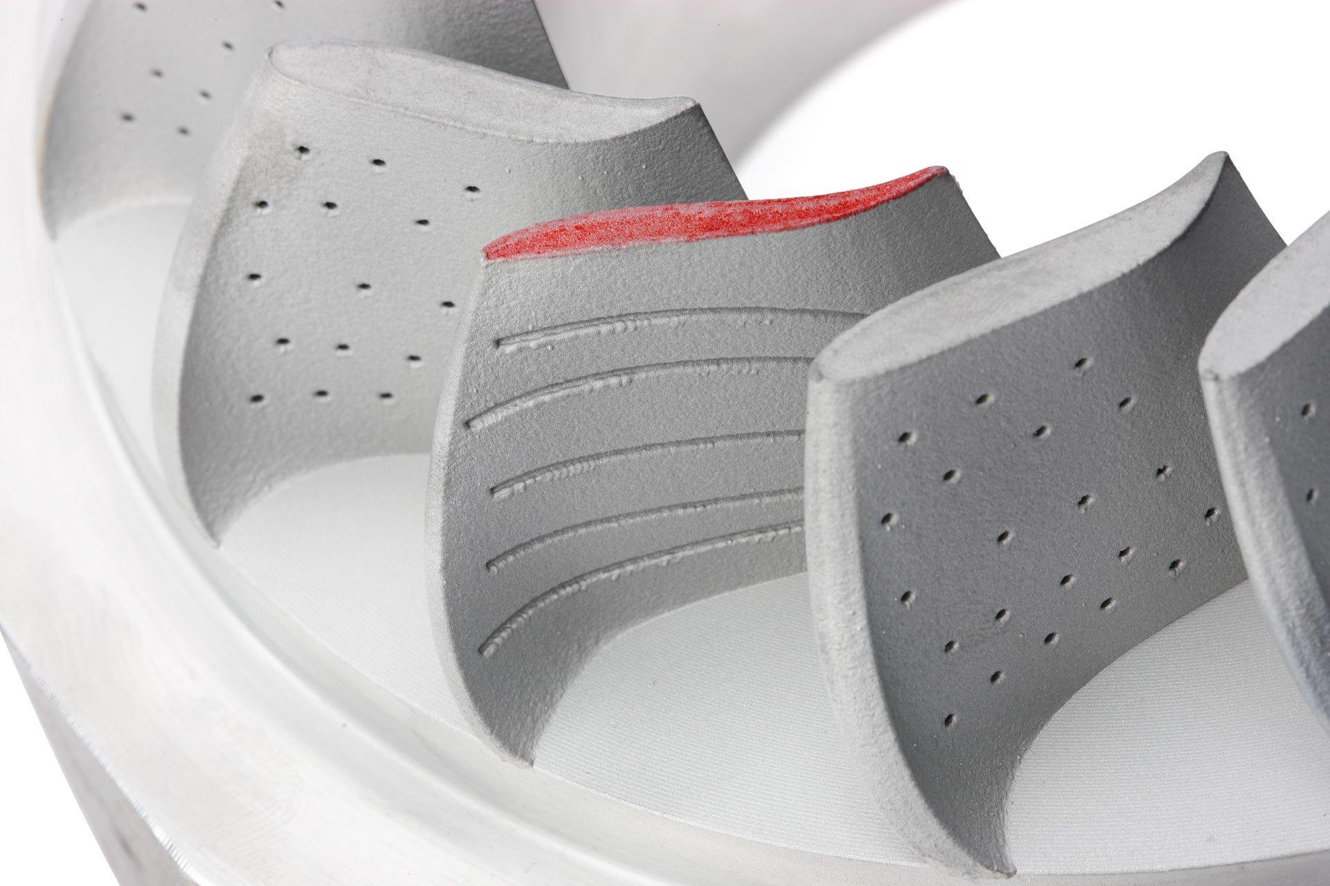 Изделие, напечатанное на 3D-принтере CJP