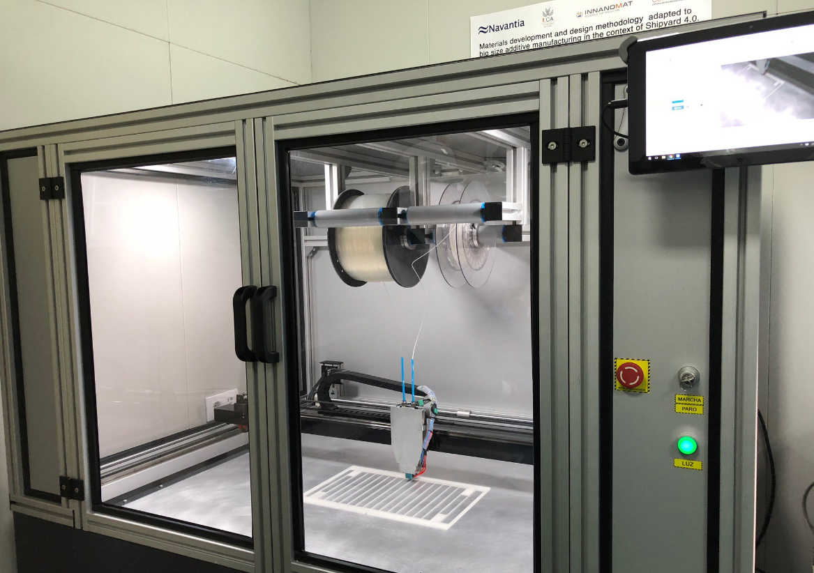 3D-принтер для судостроения в компании Navantia