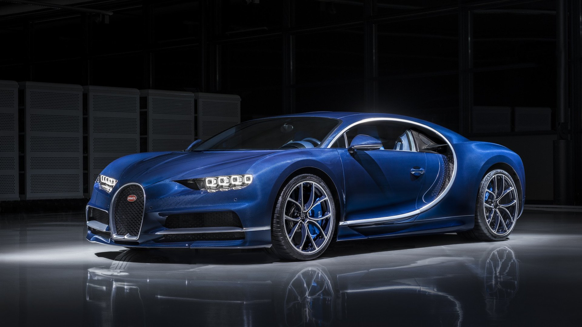 Гиперкар Bugatti Chiron
