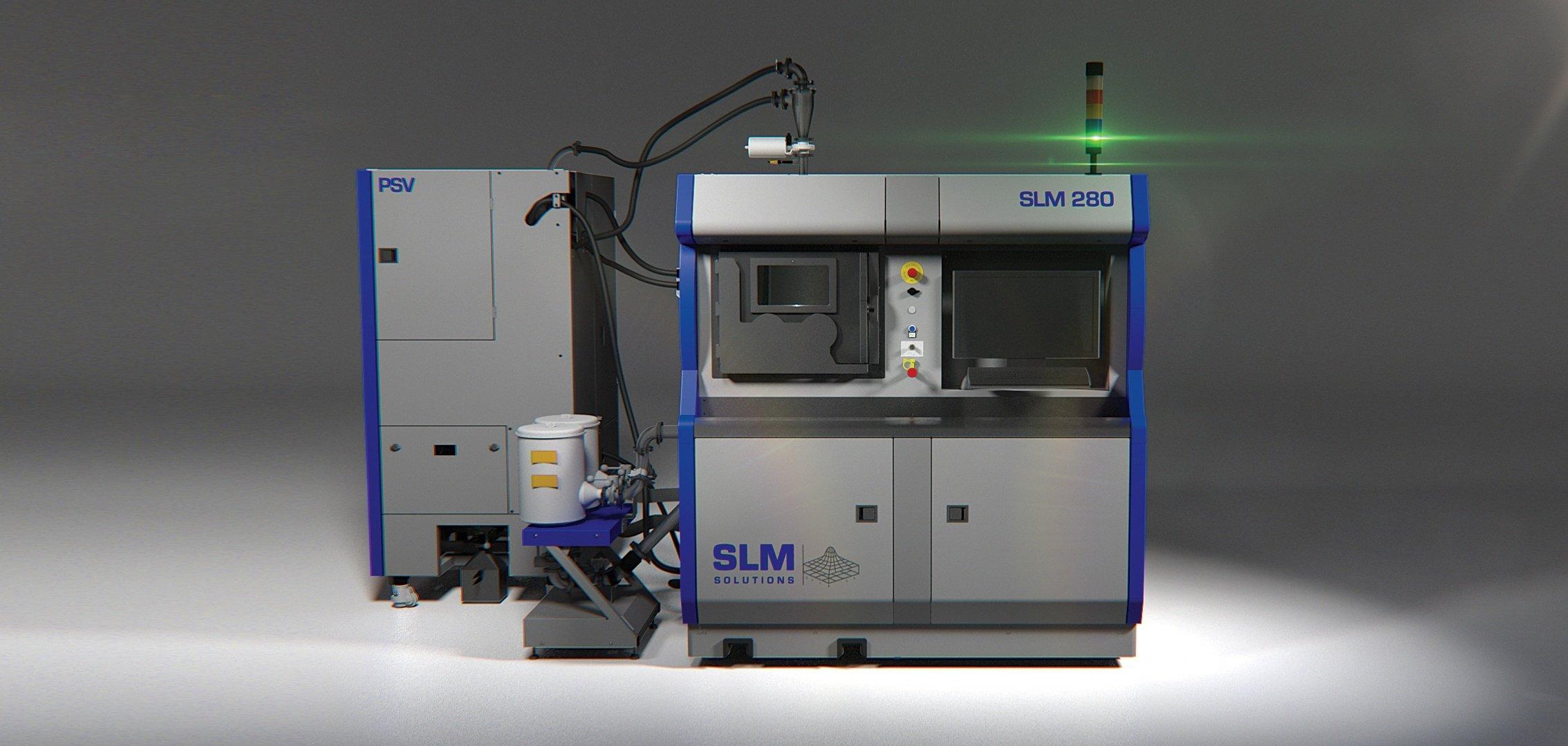 SLM 280 2.0 - новый 3D-принтер, работающий по технологии селективного лазерного плаления