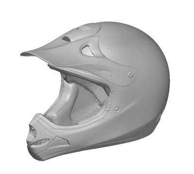 Непромышленное применение 3D-сканера деталей