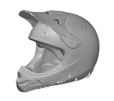 Промышленное применение 3D-сканера деталей
