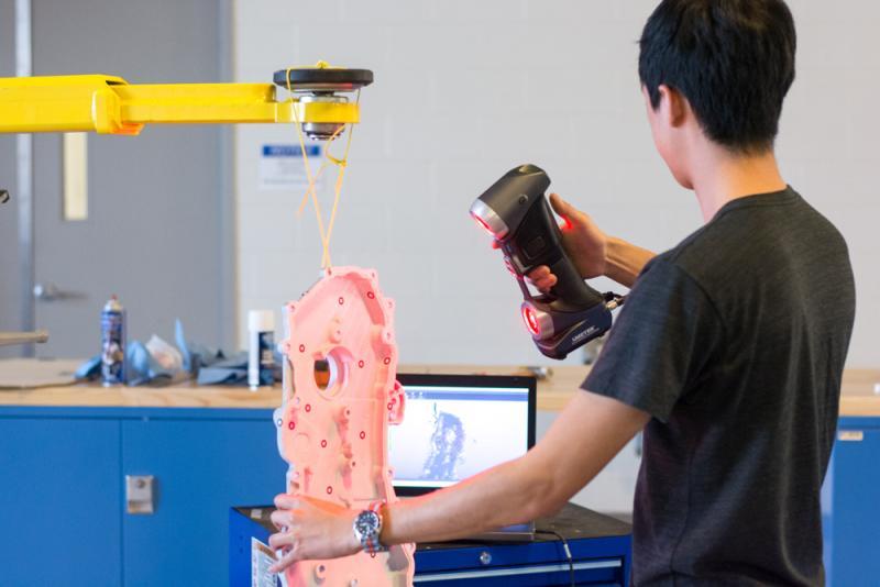 Ручной 3D-сканер Creaform HandySCAN 3D