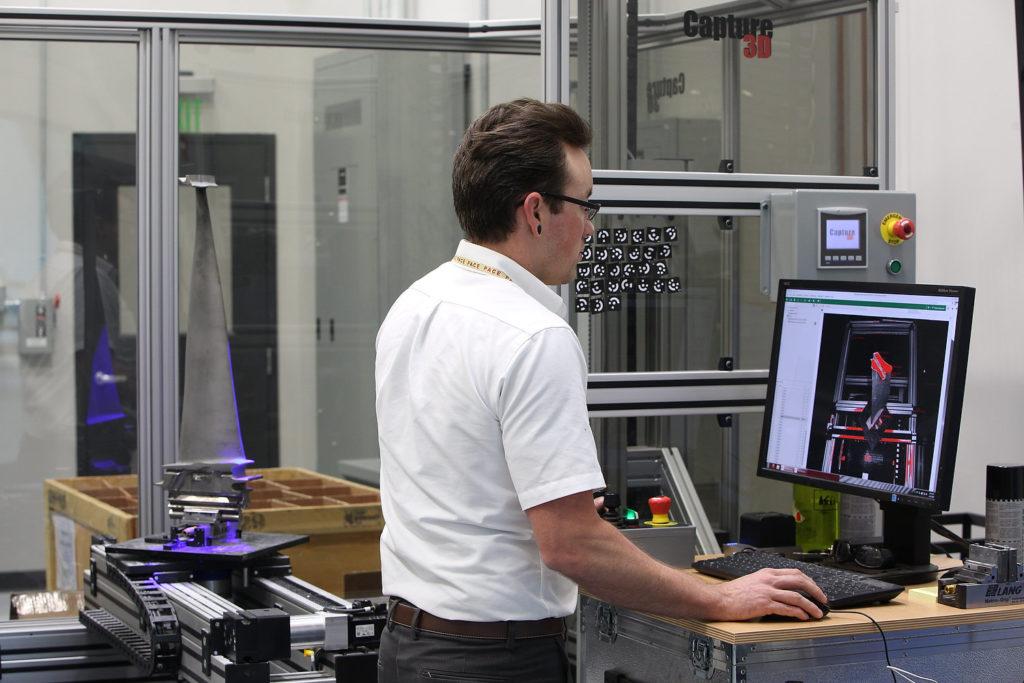 3D-сканер с технологией синего света