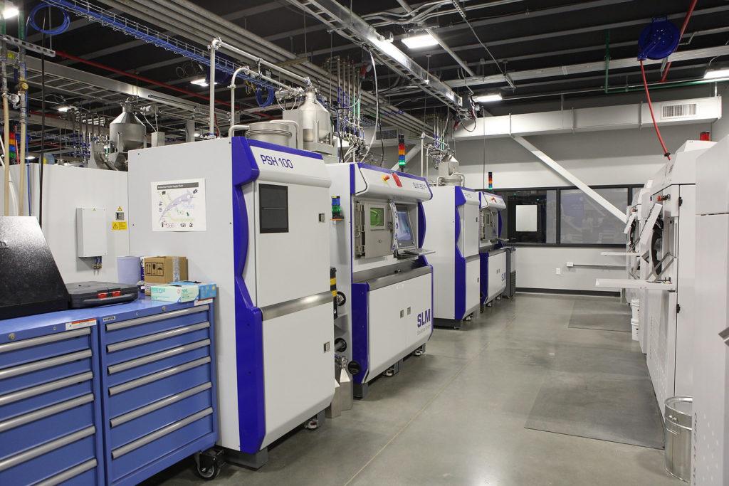 Промышленные 3D-принтеры SLM Solutions на новом заводе General Electric