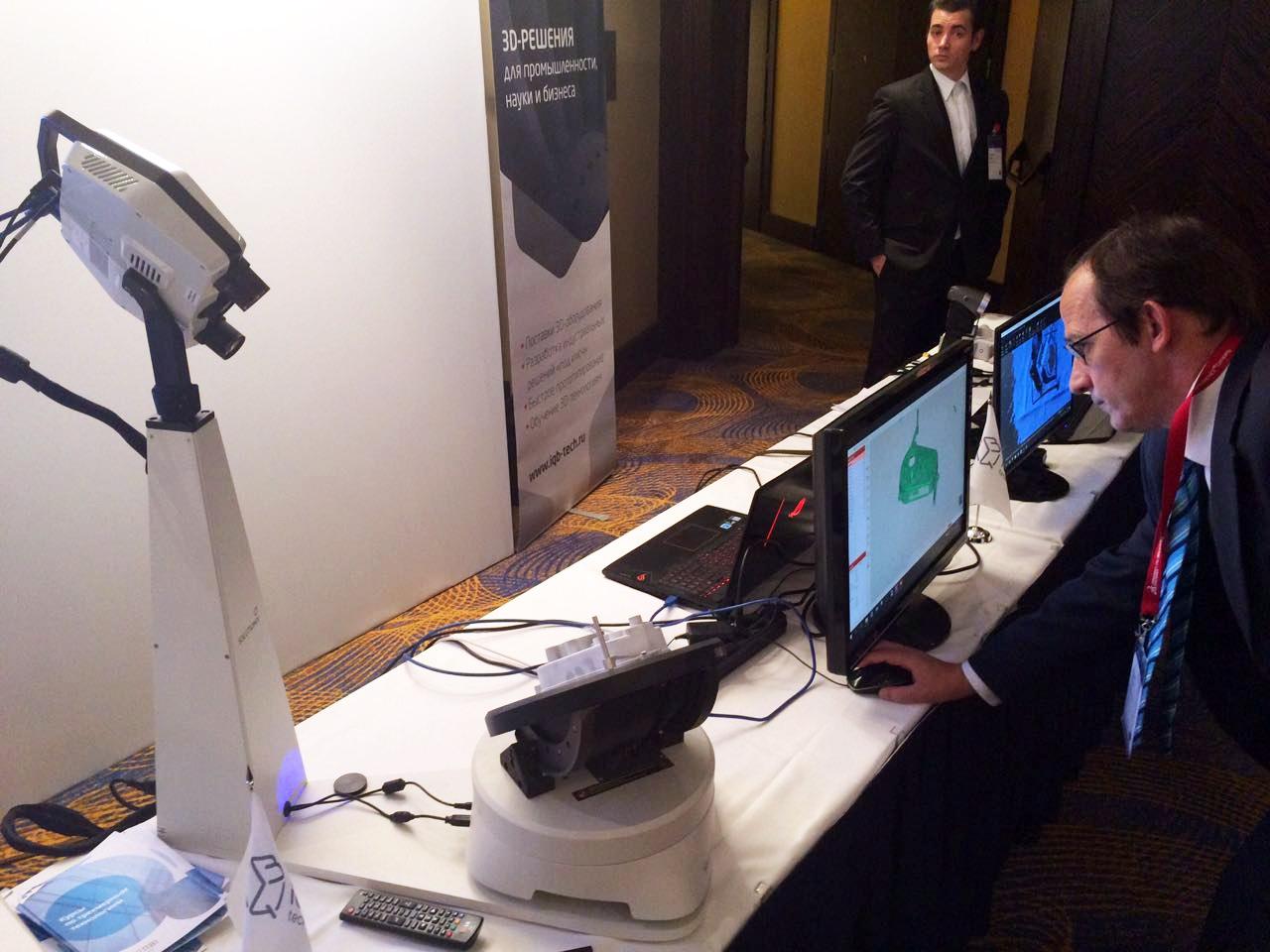 Стационарный 3D-сканер Solutionix CS2+