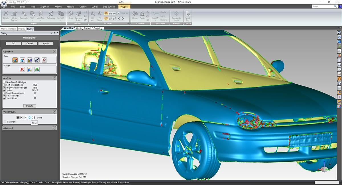 Программа 3d моделирования Geomagic Wrap