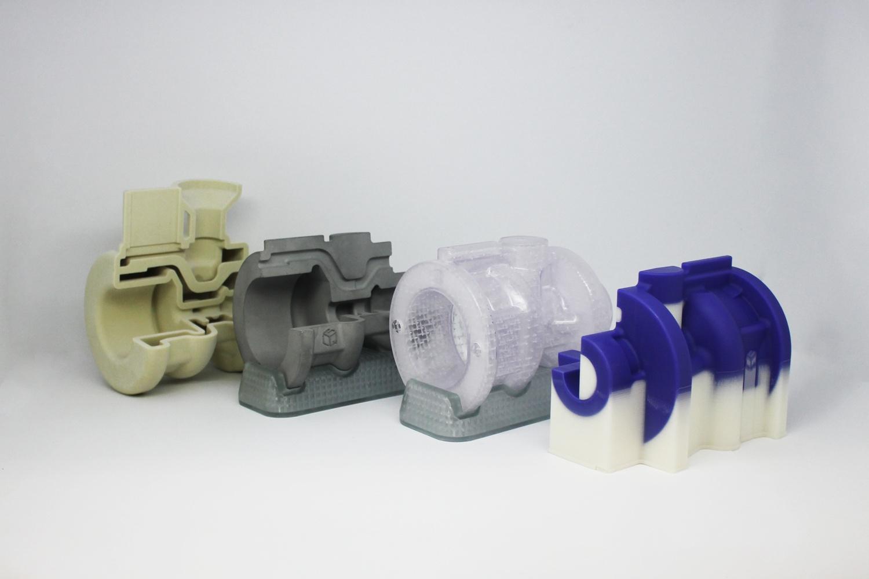 Восковая и фотополимерная 3D-печать моделей клапана