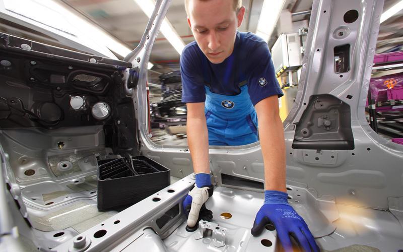 Аддитивные технологии на автомобильном заводе BMW