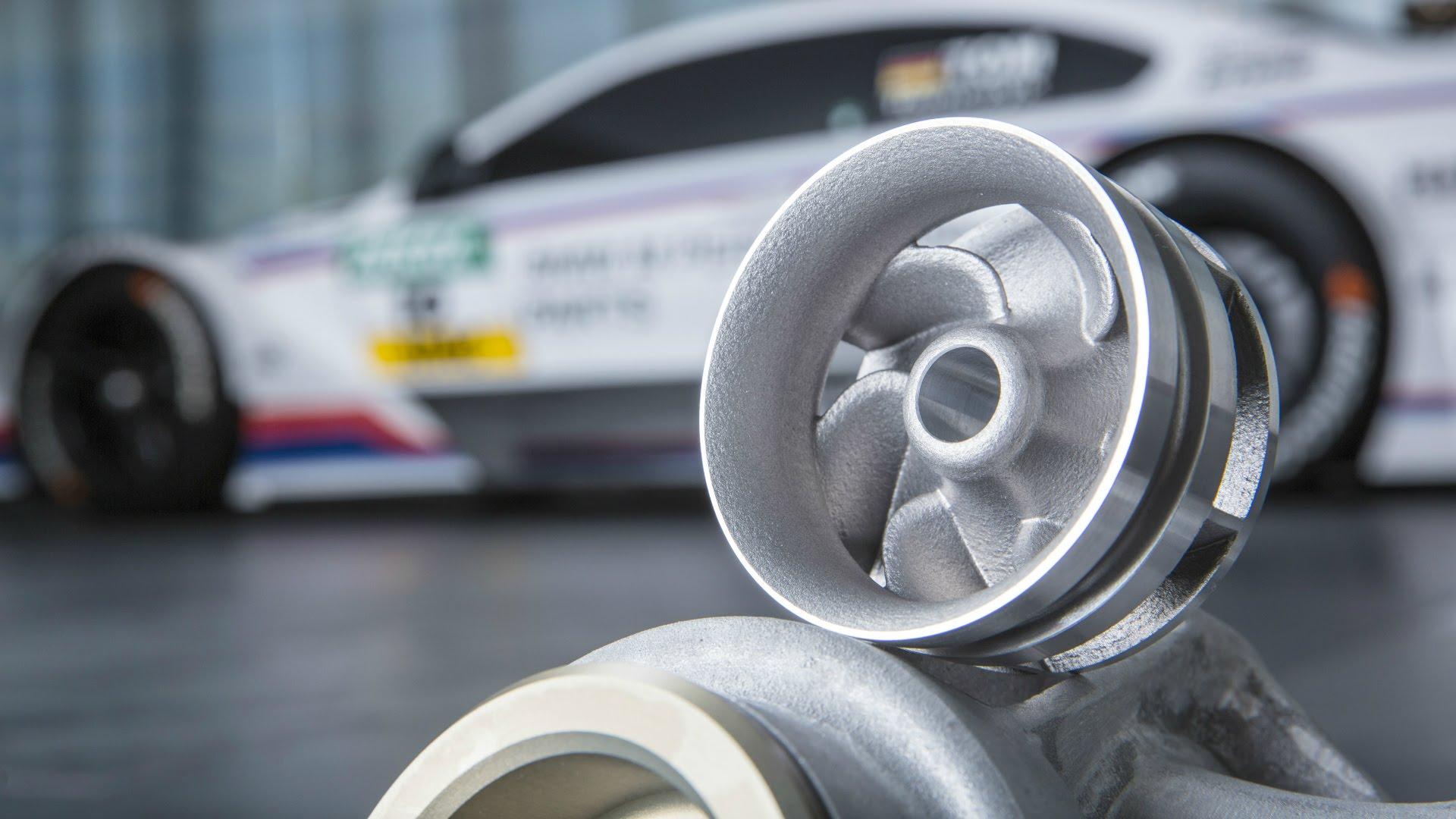 Крыльчатка для гоночного автомобиля BMW, созданная по аддитивной технологии