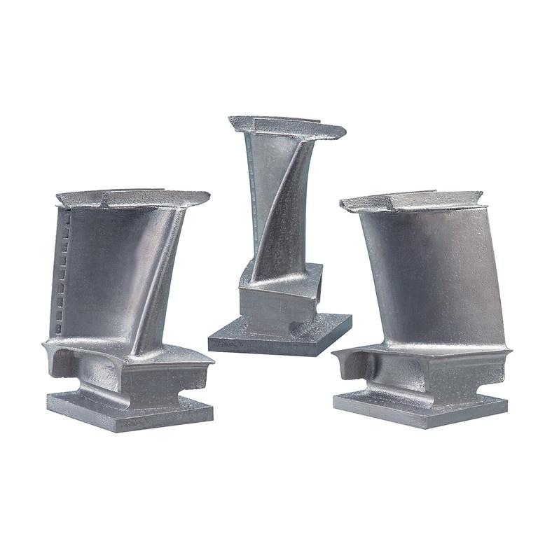 Лопатка турбины, напечатанная на 3D принтере