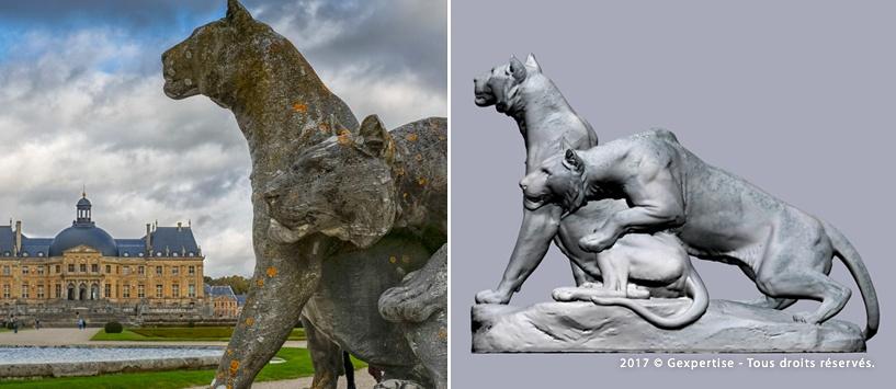 Результат 3D сканирования статуи