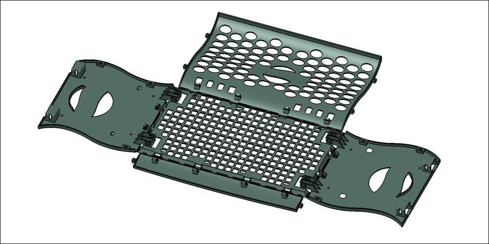 3D-сканирование и 3D-модель пластмассового изделия