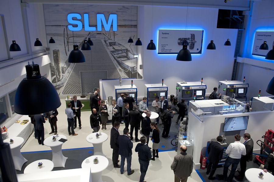 Аддитивные установки SLM Solutions