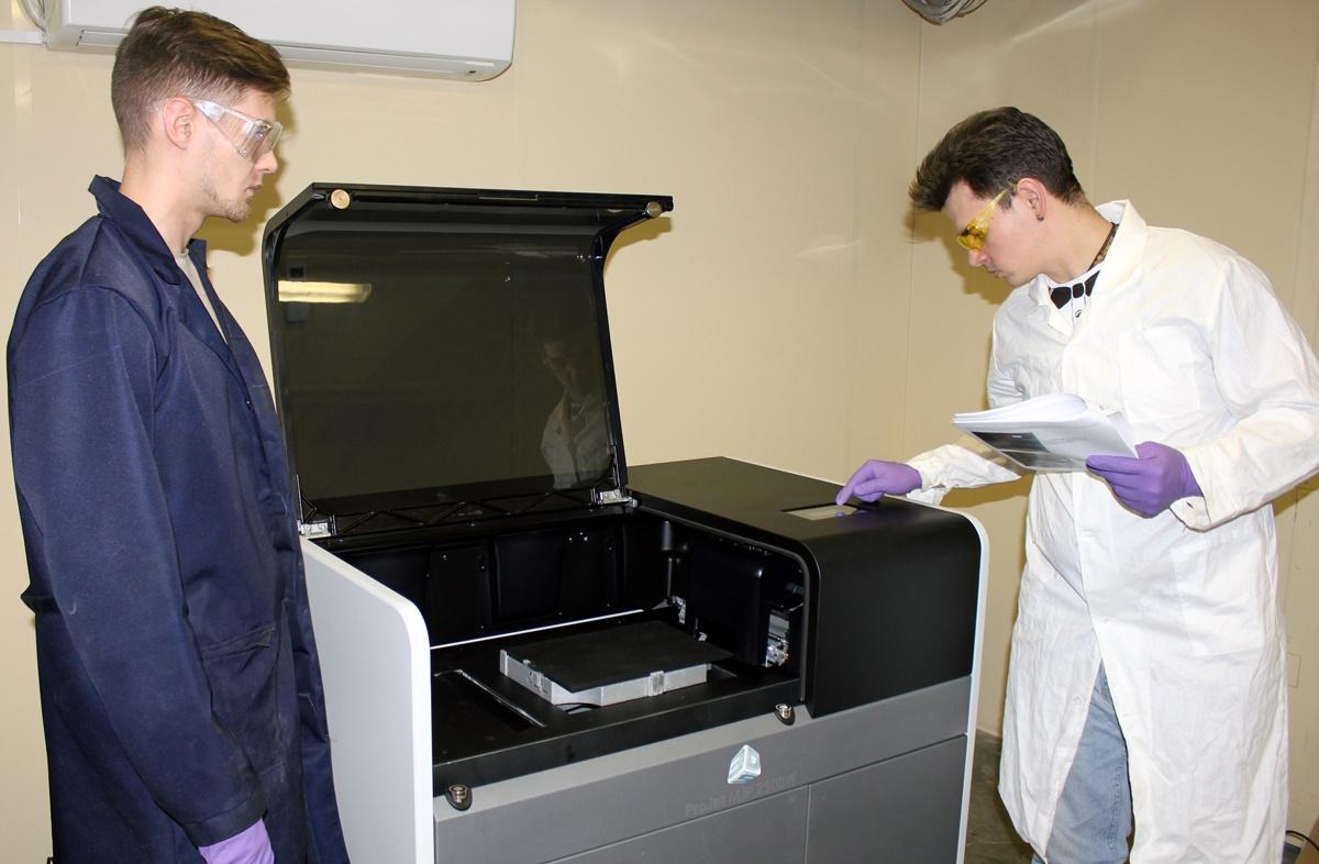 3D принтер 3D Systems ProJet MJP 2500W