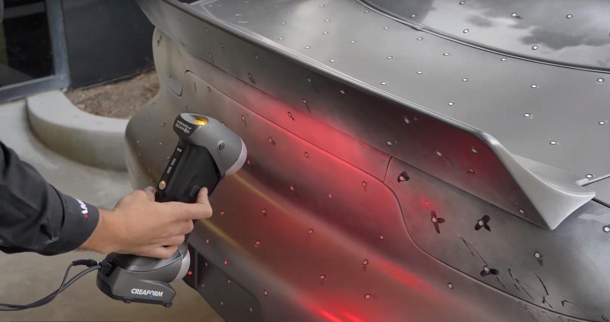 3d сканирование автомобиля