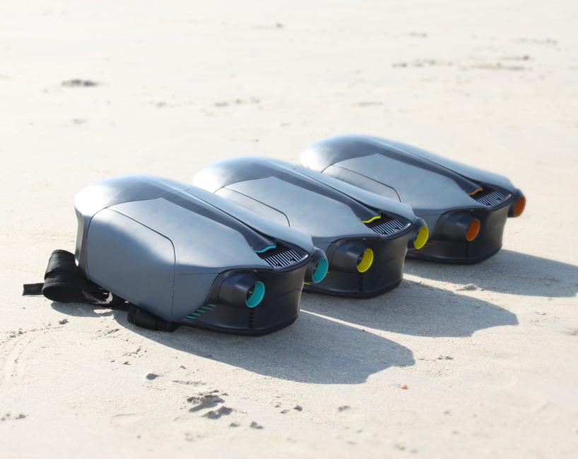 Подводный джетпак напечатан на 3d принтере