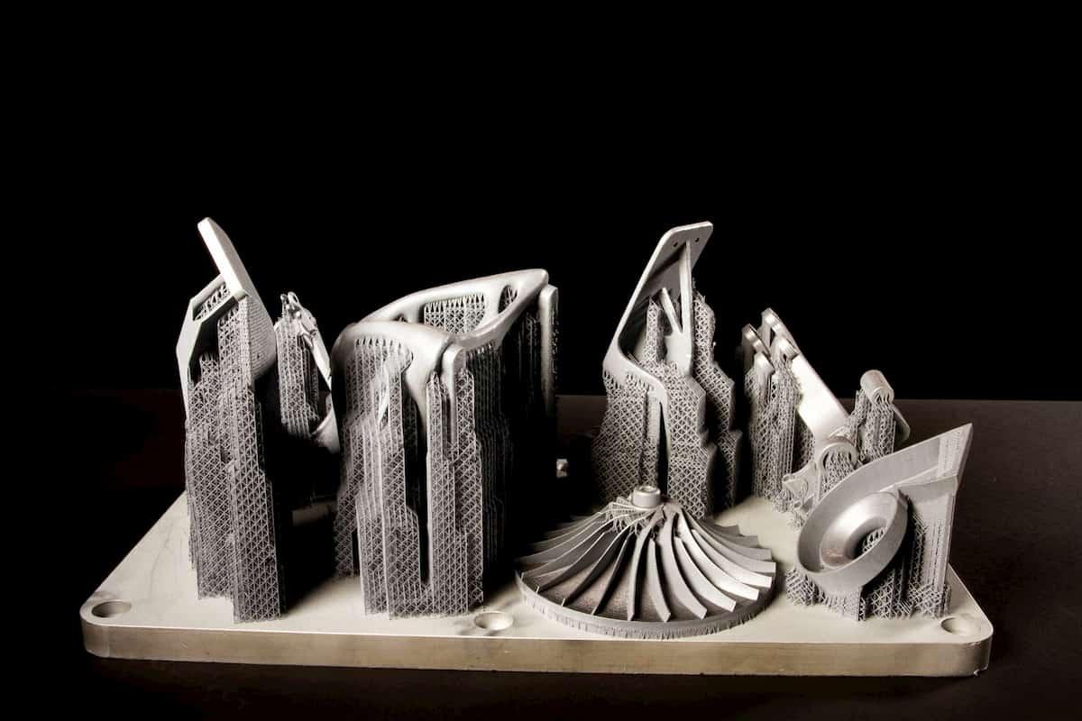 Платформа металлического 3d принтера