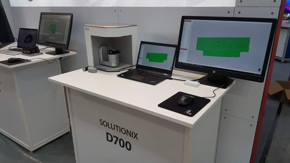 Стационарный оптический 3D-сканер Solutionix