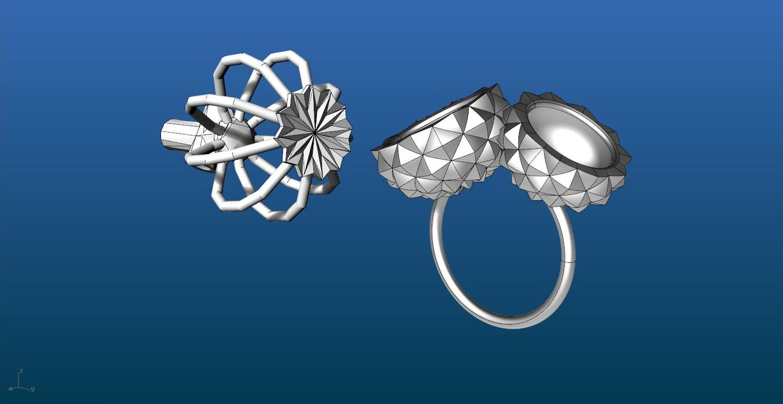 3D модель ювелирного изделия