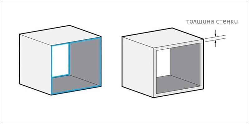 Толщина стенок в 3D-печати
